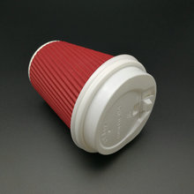 Non Spill PS Plastic Lid for Hot Disposable Tea Paper Cup